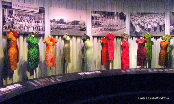 Fashion: bộ sưu tập về thời trang của phụ nữ Singapore từ năm 1950 đến 1970.