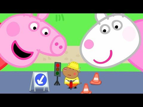 Kids Tv And Stories Peppa Pig And Suzy Sheep Are Visiting Tiny