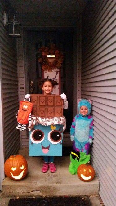 Cheeky chocolate shopkins costume