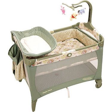Graco Winnie The Pooh Pack N Go Playpen For A New Mom