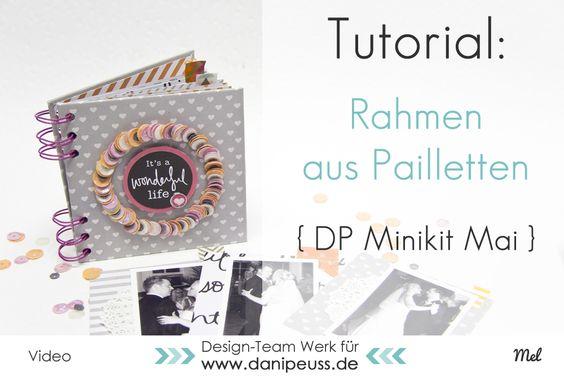 DIY Minialbum Anleitung mit dem Mai Minikit AddOn 2015 von Mel für www.danipeuss.de