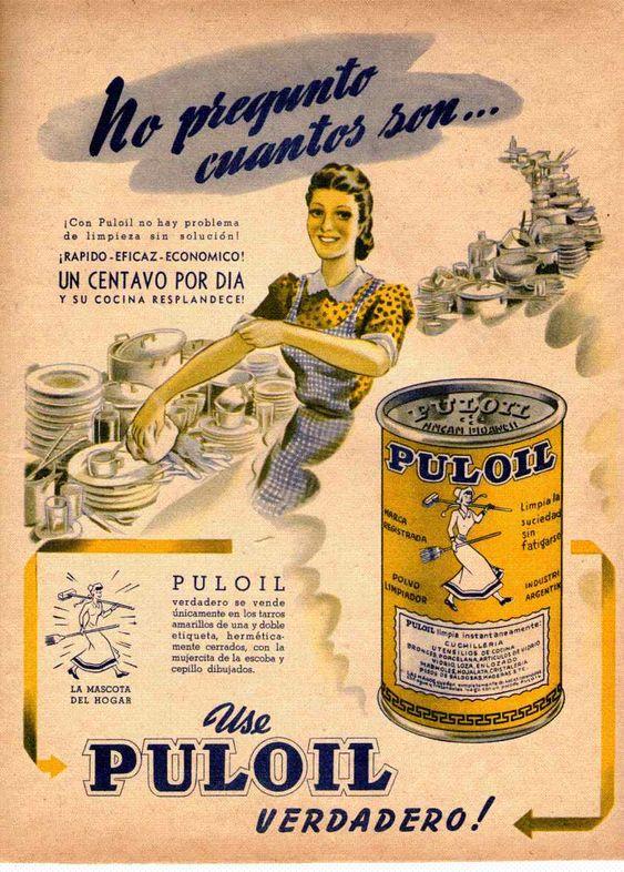 PULOIL, década del 40.