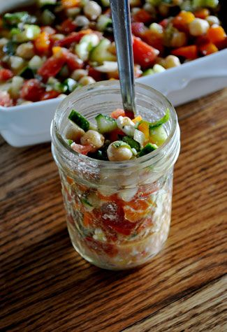 Summer Chopped Salad - good for lunch