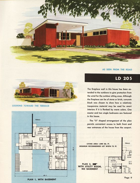 House plans from the holland lumber company in omaha for Holland house design
