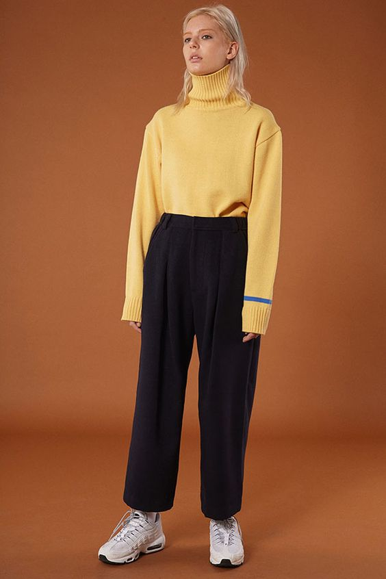 ADERerror Contemporary Minimalism Color FW15/16 Collection Knitwear Styling 'But near missed things'