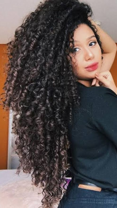 Hairstyle Ideas For Middle Aged Woman Hairstyle Ideas For Evening Hairstyle Ideas For Office H In 2020 Curly Hair Styles Curly Hair Styles Naturally Long Dark Hair