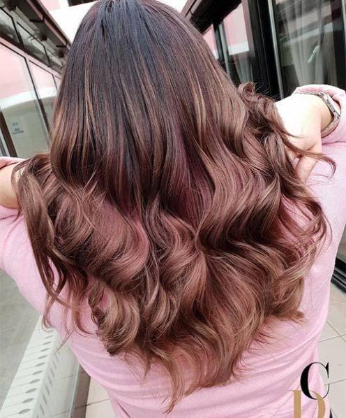 Tintes Tonos Tintes Piel Morena Color De Cabello Para Morenas 2020 35 Rose Brown Hair Shades That Will Inspire You To Visit The Salon
