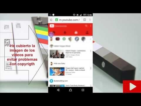 Como Descargar Videos De Youtube Sin Programas En Tu Smartphone