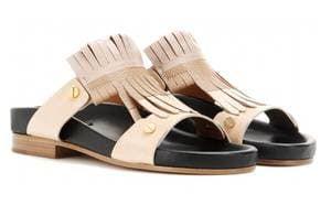 Chloe Cherry Blossom leather sandal, £555, Harrods