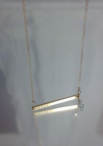Summer Ellis Bliss Necklace-Genuine 14kt gold fill – Debra's Passion Boutique