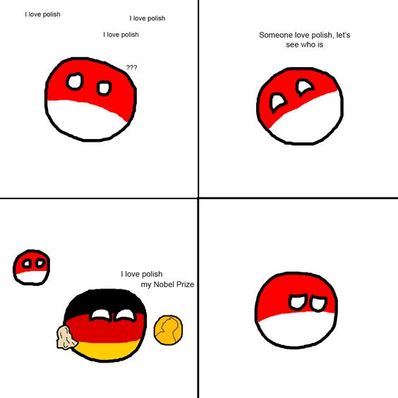 how to say poland in german