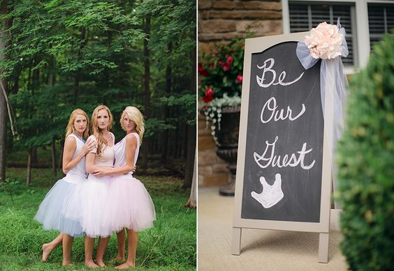 Princess Themed Bridal Shower, Bridal Shower, Tutu, princess, disney princess, fairytale, Copyright DJP www.dyannajoyphotography.com/blog