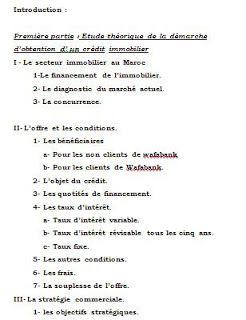 Memoire Credit Immobilier Rapport De Stage 3eme Bts Dissertation Sociologie Organisations Organisation