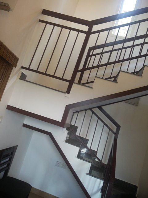 Glass Stainless Steel Staircase Handrail Design In Kerala ...