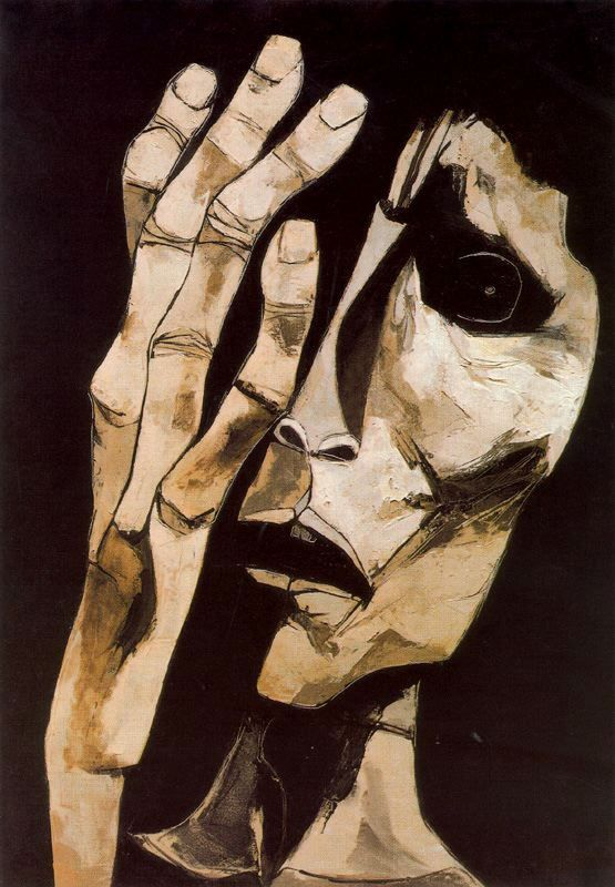 El grito nº 3, 1983Oswaldo Guayasamin - by style - Expressionism