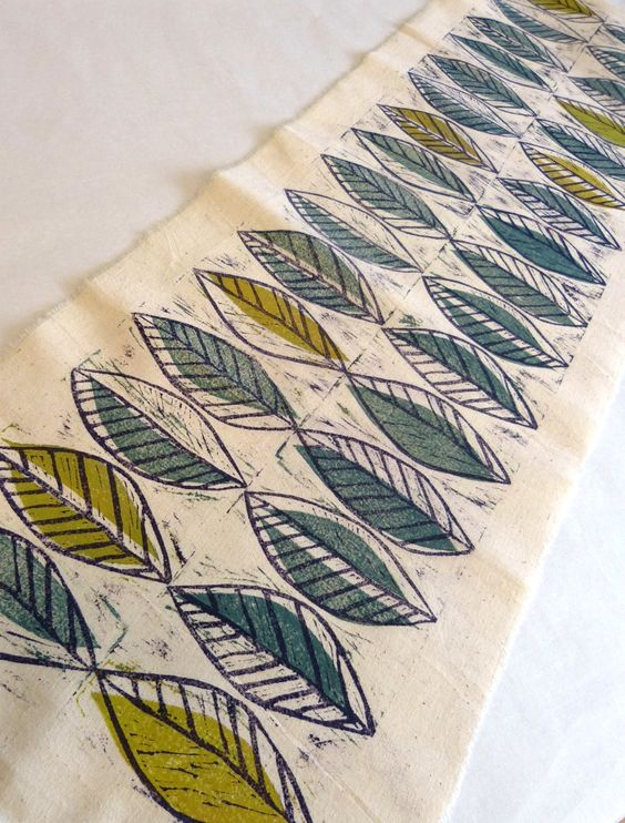 Created at Northern Print's Hand Printed Textiles course (Jan 2013).  For details of current courses please visit www.northernprint.org.uk/learning.html