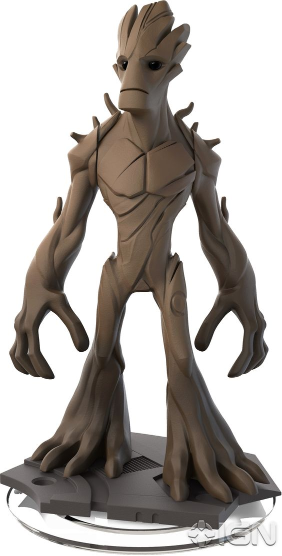 Disney Infinity 2.0 Figure: Groot (Wave 1, Guardians of the Galaxy Play Set, Sold Separately)