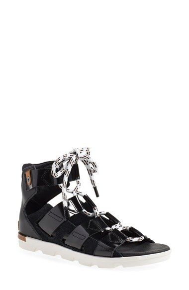 SOREL 'Torpeda' Lace-Up Sandal (Women) available at #Nordstrom