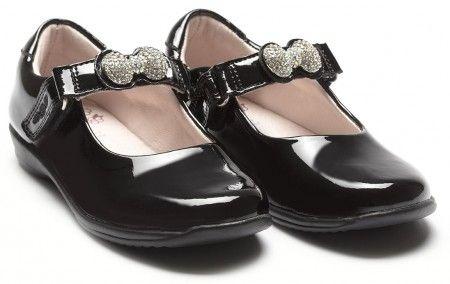 Lelli Kelly Girls Elsa Patent Black Shoes