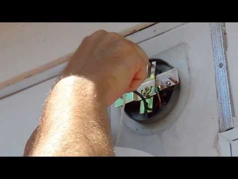 How To Replace A Outdoor Light Fixture - YouTube