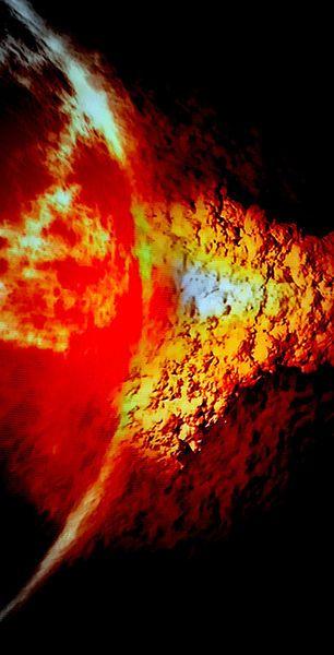 'fracture of the sun sterns' von bernd  hiep bei artflakes.com als Poster oder Kunstdruck $16.63