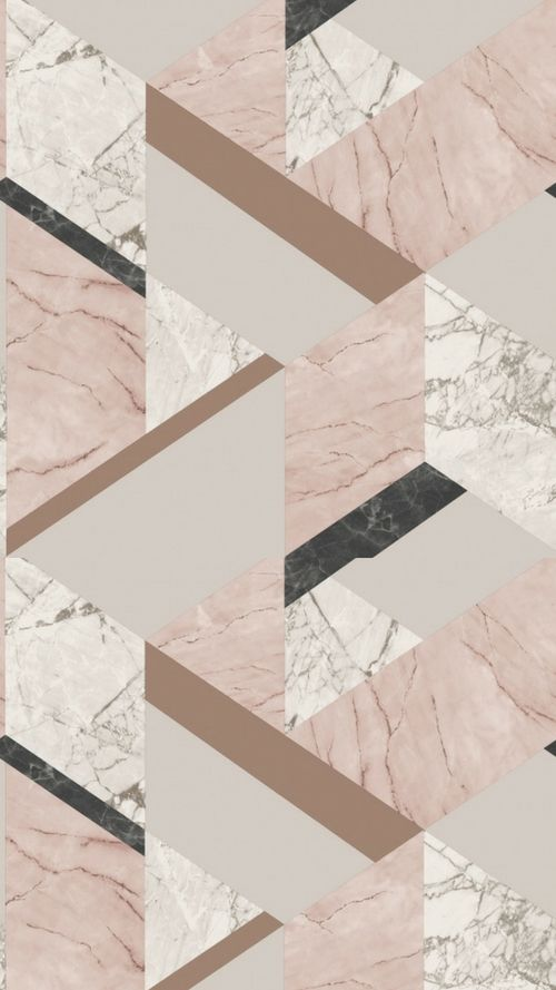 FINE DECOR MARBLESQUE GEOMETRIC METALLIC MARBLE WALLPAPER ROSE GOLD PINK GREY
