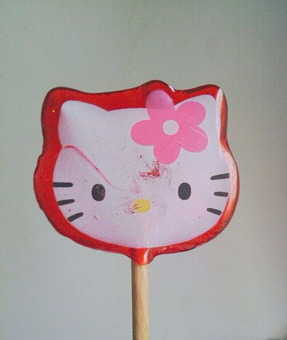 Sucette hello kitty