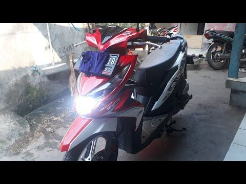 Pin Di Bike Beat Merah Putih Nkri