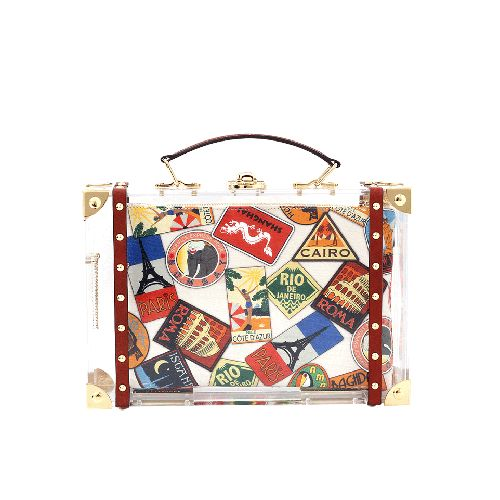 CHARLOTTE OLYMPIA Around The World Clutch
