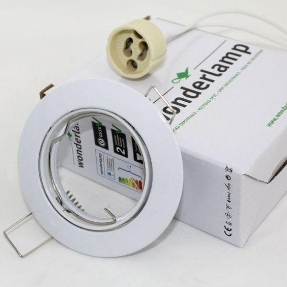 Foco Empotrable Basic redondo blanco. Wonderlamp Iluminación LED ...