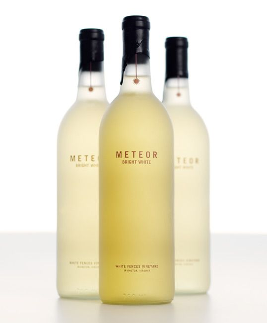 Meteor Bright White  #package #design