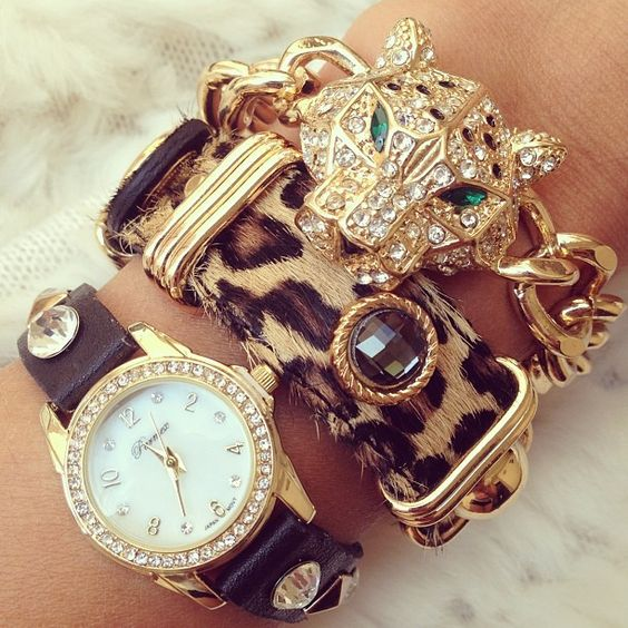 <3 arm candy ... leave off the watch