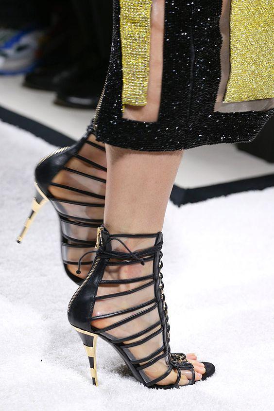 Balmain sexy shoes www.ScarlettAvery.com