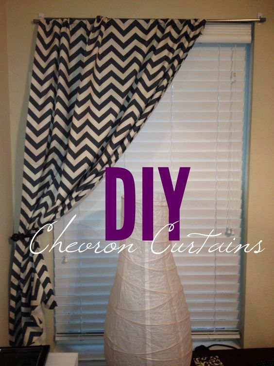 Curtains Ideas adhesive curtain rod : DIY NO-SEW curtains! Buy fabric from hobby lobby, measure, cut ...
