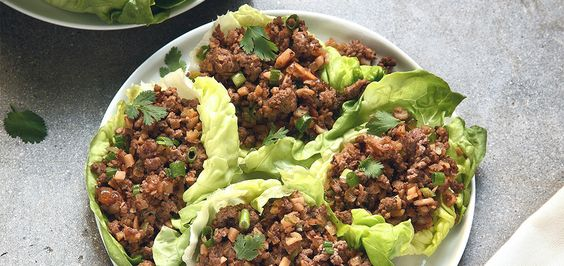Delicious and bursting with flavor, Asian lettuce wraps are a great idea for entertaining or a family style meal. Each person can build their own fresh, delicio