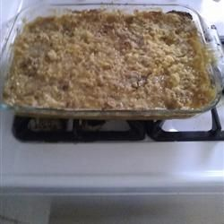 Pear Cobbler With Yellow Cake Mix