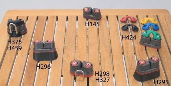 Harken 150 Cleat Accessories - How to choose cam cleat accessories