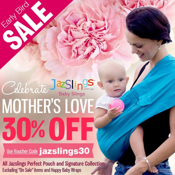Jazslings Baby Slings Celebrate Mother's Love Promo 30% OFF All Jazslings Perfect Pouch & Signature Collection Visit Jazslings to avail the promo at http://jazslings.com.au/  Visit www.StudioGrfx.com to view my portfolio. All enquiries please email at pascalg@studiogrfx.com. #ads #jazslings #babywearing #babyslings #graphicdesign #graphic #studiogrfx