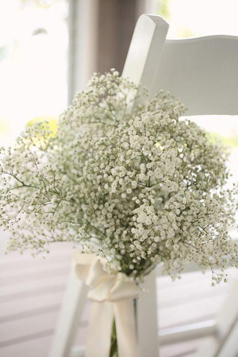 DIY ceremony flowers