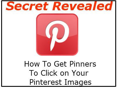 How to get pinners to click on your pinterest images.....