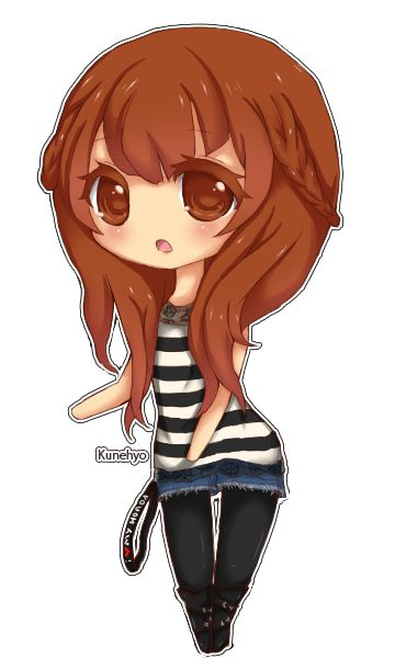 Chibi Anime Cute Cartoon Boy Girl Characters Funny People ...