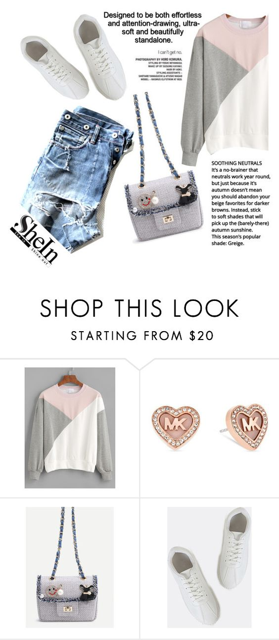 """""""Sheinside"""" by younica ❤ liked on Polyvore featuring Michael Kors and shein"""