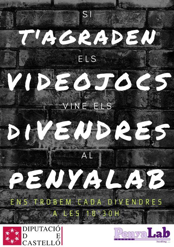 Els videojocs arriben al PenyaLab