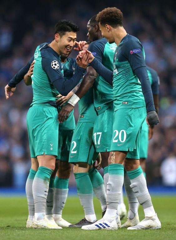 Heung Min Son Of Tottenham Hotspur Celebrates After He Scores His Tottenham Hotspur Tottenham Football Tottenham