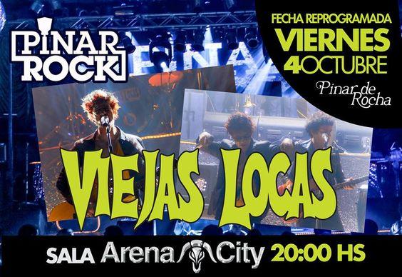 Viernes 4 de Octubre - VIEJAS LOCAS - Pinar de Rocha #TodoPasaxPinar