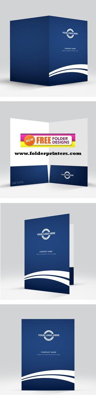 Custom Folders, Presentation Folders, Pocket Folders Design - resume presentation folder