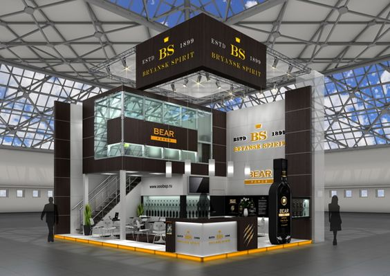 Exhibition Stand Competition Ideas : Rise above your competition take that quite literally on