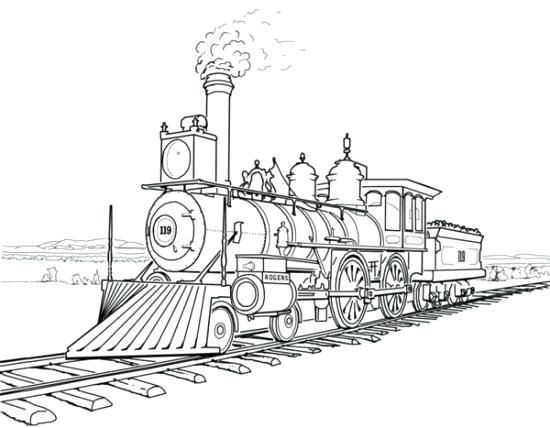 Polar Express Coloring Pages Train Coloring Pages Train Drawing