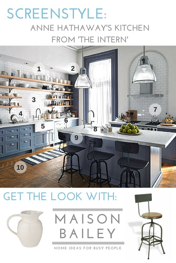 Love Nancy Meyers movies? Here's how to get Anne Hathaway's kitchen style from…