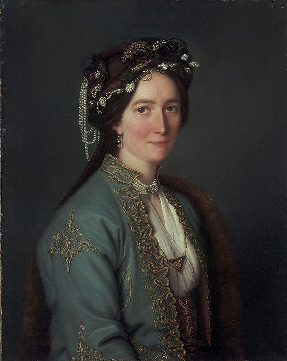 Portrait de Madame Baudin, 1835, d'Élisabeth Louise Vigée Le Brun (French, 1755–1842).